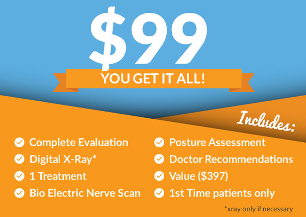 $99 Special Offer at Shoreline Family Chiropractic